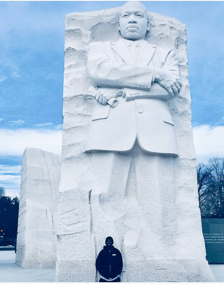 """Our lives begin to end the day we become silent about the things that matter."" -MLK"