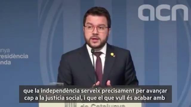 """Image for the Tweet beginning: 🎥[VÍDEO] @perearagones: """"L'únic pressupost 💰"""