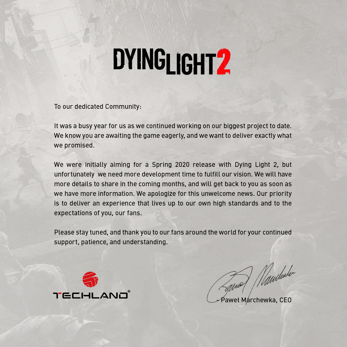 @DyingLightGame's photo on Dying Light 2
