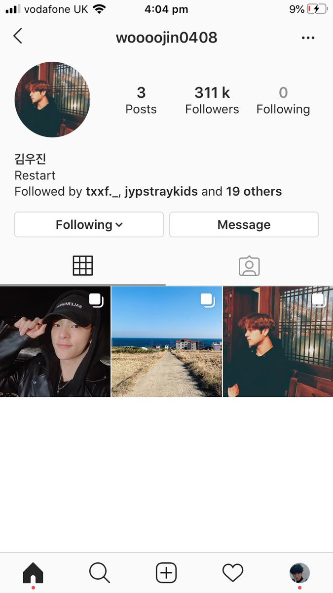 The fact that Woojin has a personal insta account is making me cry. I'm glad he's happy and healthy and I wish him all the best for what the future brings him  #WeLoveYouWoojin #WoojinIsBack<br>http://pic.twitter.com/fYAPWh9SVP