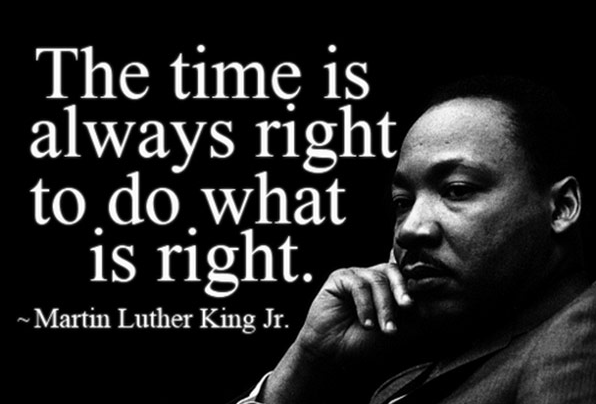 """The time is always right to do what is right"" - Martin Luther King Jr.  #dallastexas #dfw #dallas #martinlutherkingjrpic.twitter.com/o9Y9eRNat3"