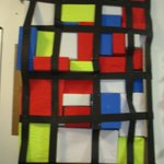 Image for the Tweet beginning: Year 1 Art Week displays.