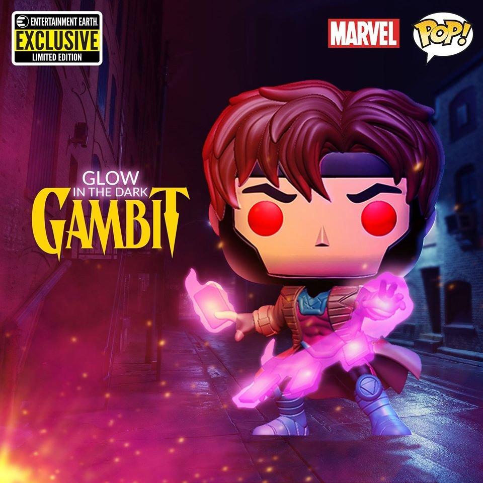 Entertainment Earth exclusive GITD Gambit up for preorder! ► funko.link/GITDGambit