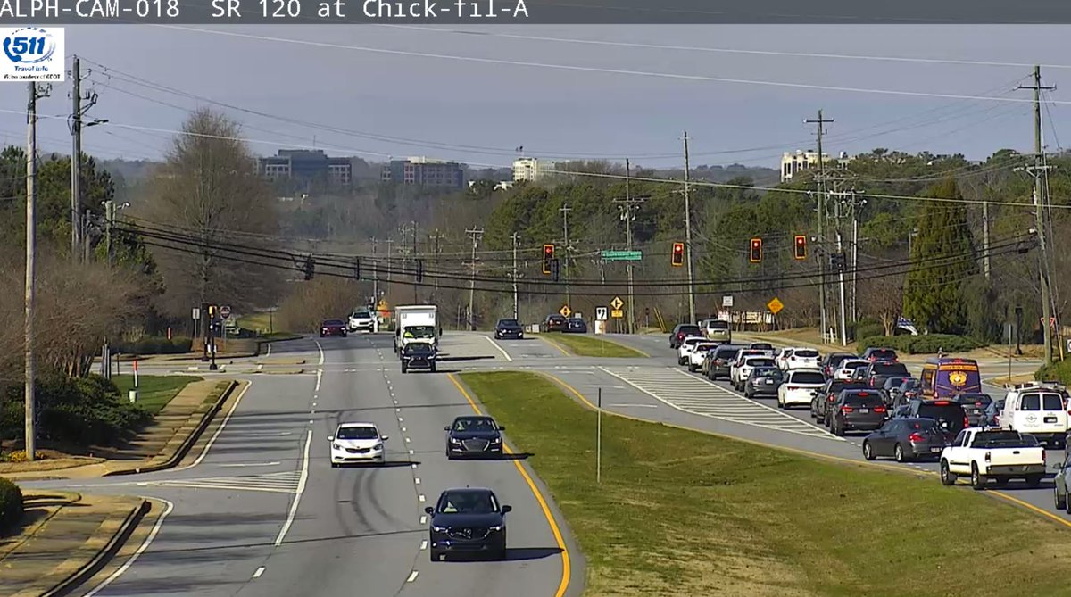 Traffic Lights are Flashing Red on Old Milton Pkwy just west of Kimball Bridge Rd. proceed with caution and expect delays in Alpharetta today @AlpharettaDPS  https://www. wsbradio.com/traffic     #ATLTraffic<br>http://pic.twitter.com/sJMrtUY20B
