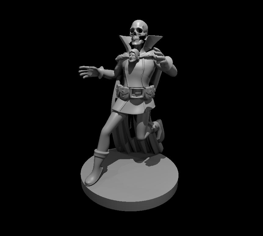 Per the request of @JeremyECrawford & @cwgabriel here is the Real Jim Darkmagic, 3D modeled and #3dprinting as I type this! I'll print two copies, paint them, and send them to you guys via @Hobbitzez soon!  Lets see how he turns out! #dnd #acqinc #dungeonsanddragons #3dmodeling pic.twitter.com/Alr1a4vCEE