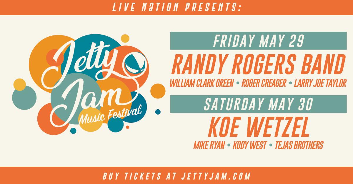 Jetty Jam 2020! Tickets on sale Thursday.