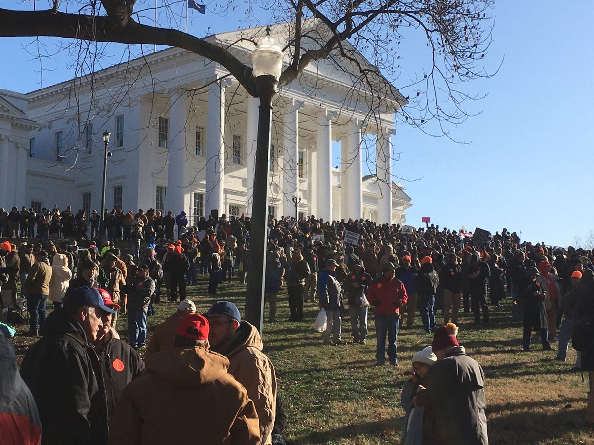 You might have heard about the Richmond gun rally. Sunday on @FullMeasureNews, the story behind why Virginia is a battleground over guns and the Constitution. #richmond #guncontrol #gunrights #secondamendment