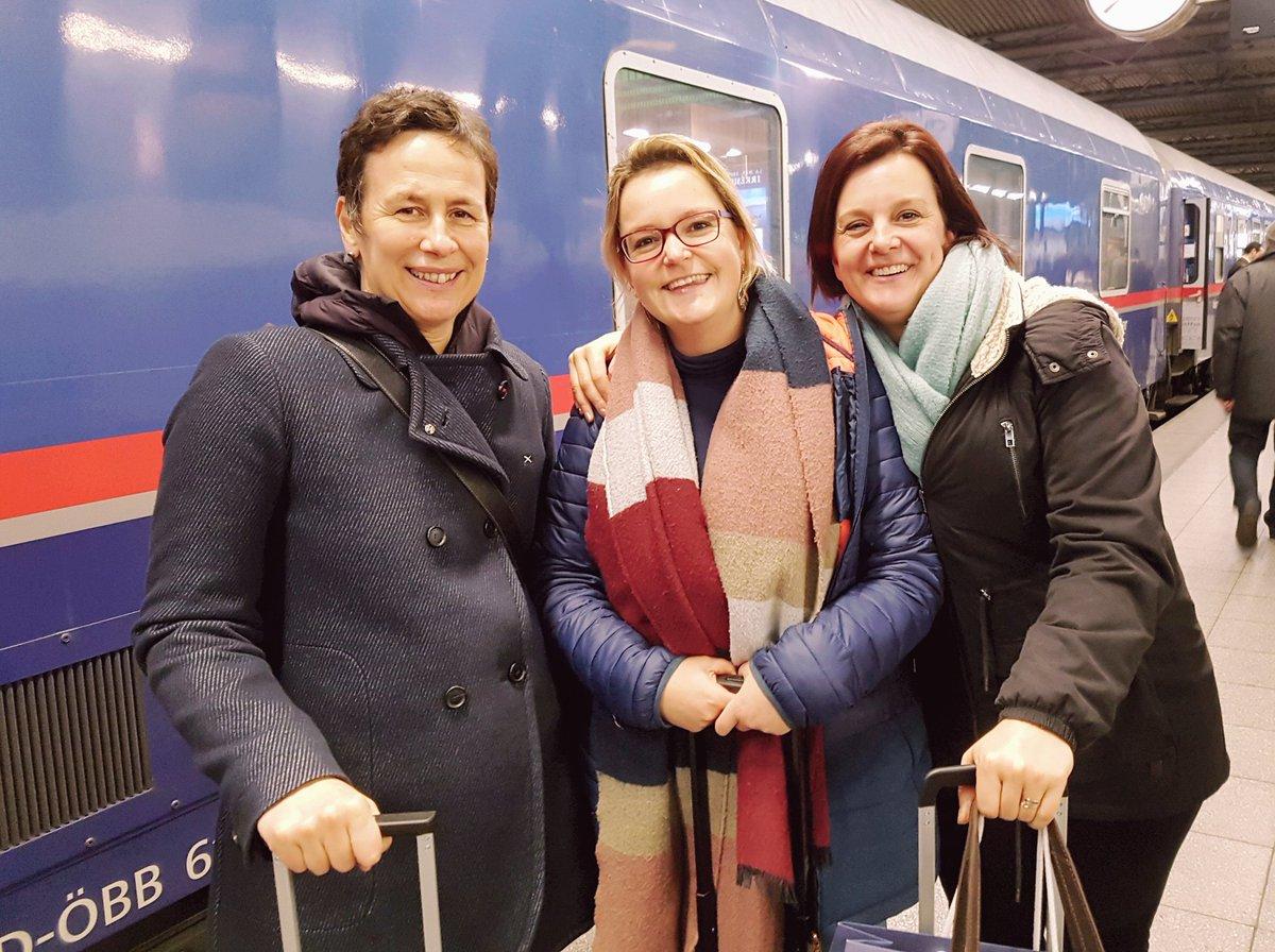Goede reis! 💚  🚄 Vanaf eind dit jaar kunnen we ook vanuit Nederland in een nachtje naar Wenen!  #MeerTreinenMinderVliegen