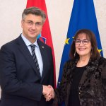 Image for the Tweet beginning: S potpredsjednicom @EU_Commission za demokraciju