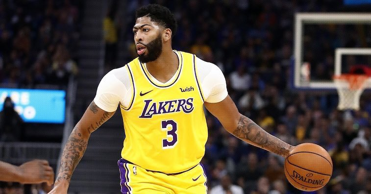AD BACK ‼️ Anthony Davis is available to play for tonight's game in Boston, per @LakersReporter.