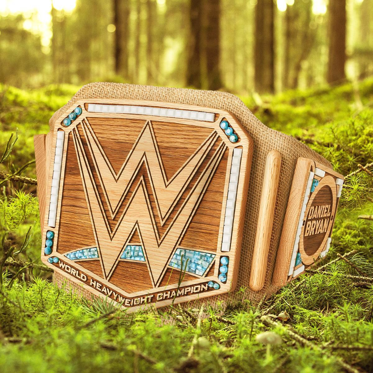 Ready for a change! Become the Planet's Champion with the @WWEDanielBryan Eco-Friendly #WWEChampionship Replica Title at #WWEShop! #WWE