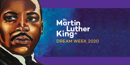 """Northwestern celebrates Dr. Martin Luther King Jr. by inspiring reflection on his life and legacy.  """"Darkness cannot drive out darkness; only light can do that. Hate cannot drive out hate; only love can do that."""" #MLKDay <br>http://pic.twitter.com/rHaaCBIRvb"""