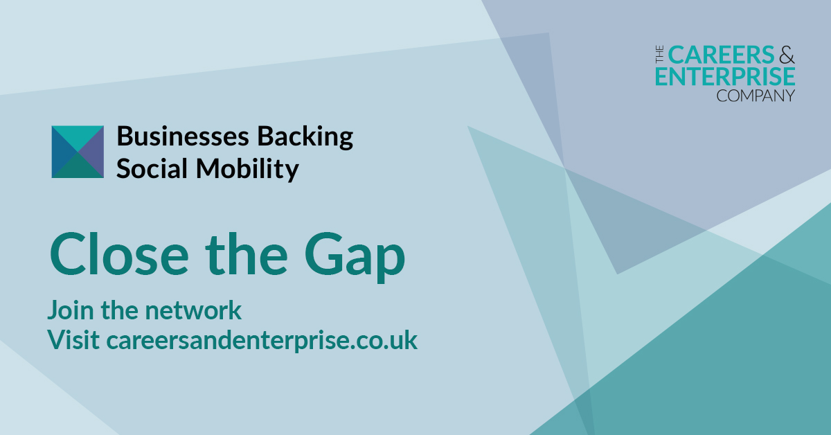 Major businesses across the country will joining together tomorrow at our Businesses Backing Social Mobility event to ensure all young people have regular inspiring engagement with employers and help to close the gap. #MakeADifference<br>http://pic.twitter.com/gVkhondCcR