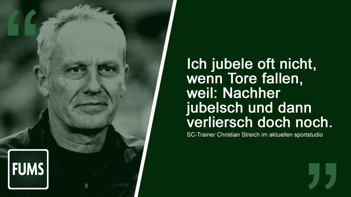 Christian Streichs Dialekt muss einfach auf der Spruch-Kachel dargestellt werden ❤️ #Streich #SCFreiburg