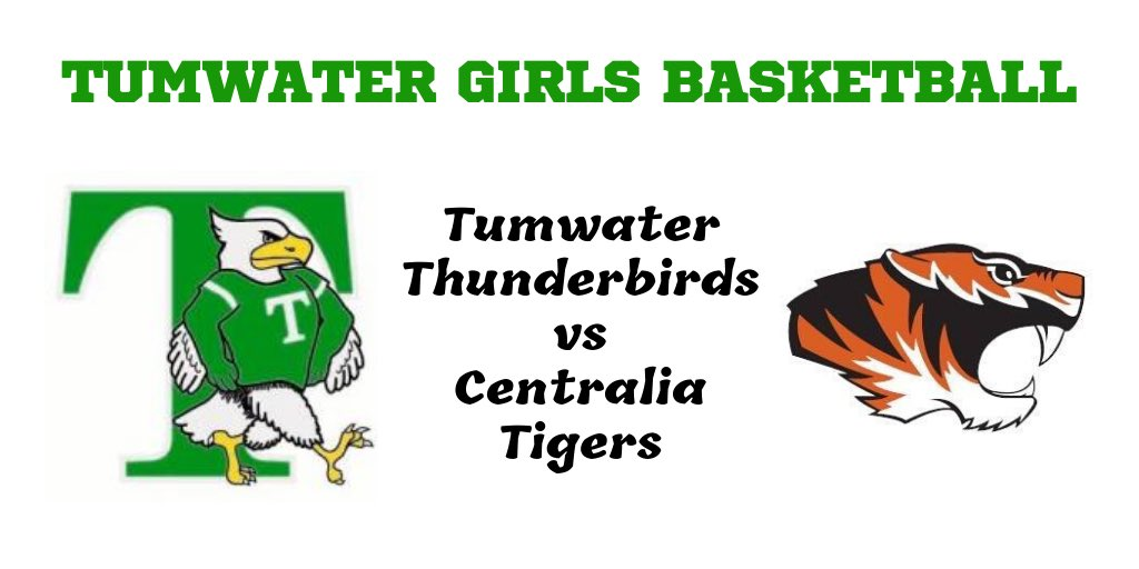 GAME 14: Tumwater v Centralia📍Tumwater High School📆Monday, January 20th⏰5:30 JV / C Team⏰7:00pm VARSITY#packthenest #GoBirds #Together