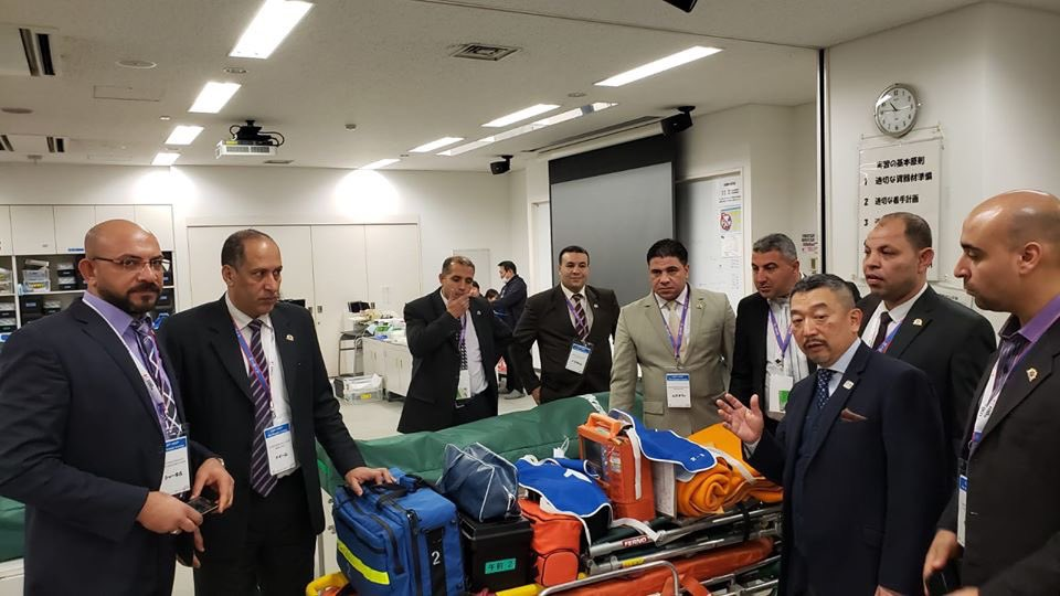 国士舘大学へのEJEP 第二期の10名が先週エジプトから成田空港に到着しました。この後約8週間に渡り、日本で救急医療や、消防組織、心肺蘇生法、病院実習など数多くの講義や実習を学び帰国を予定しています。日本から多くを学び、エジプトの… https://t.co/gl235avobS