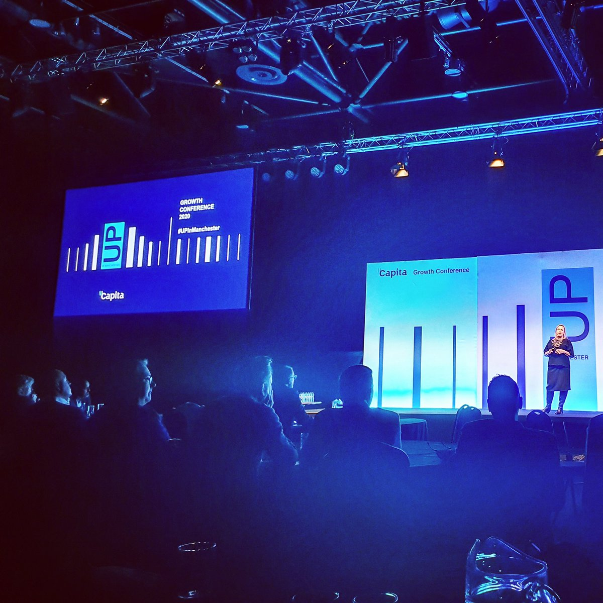 Great first day at Capita's 2020 Growth Conference #UPinManchester #future #technologysolutions pic.twitter.com/rv6zjd9SBn
