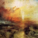 Image for the Tweet beginning: The Slave Ship, 1840 #turner