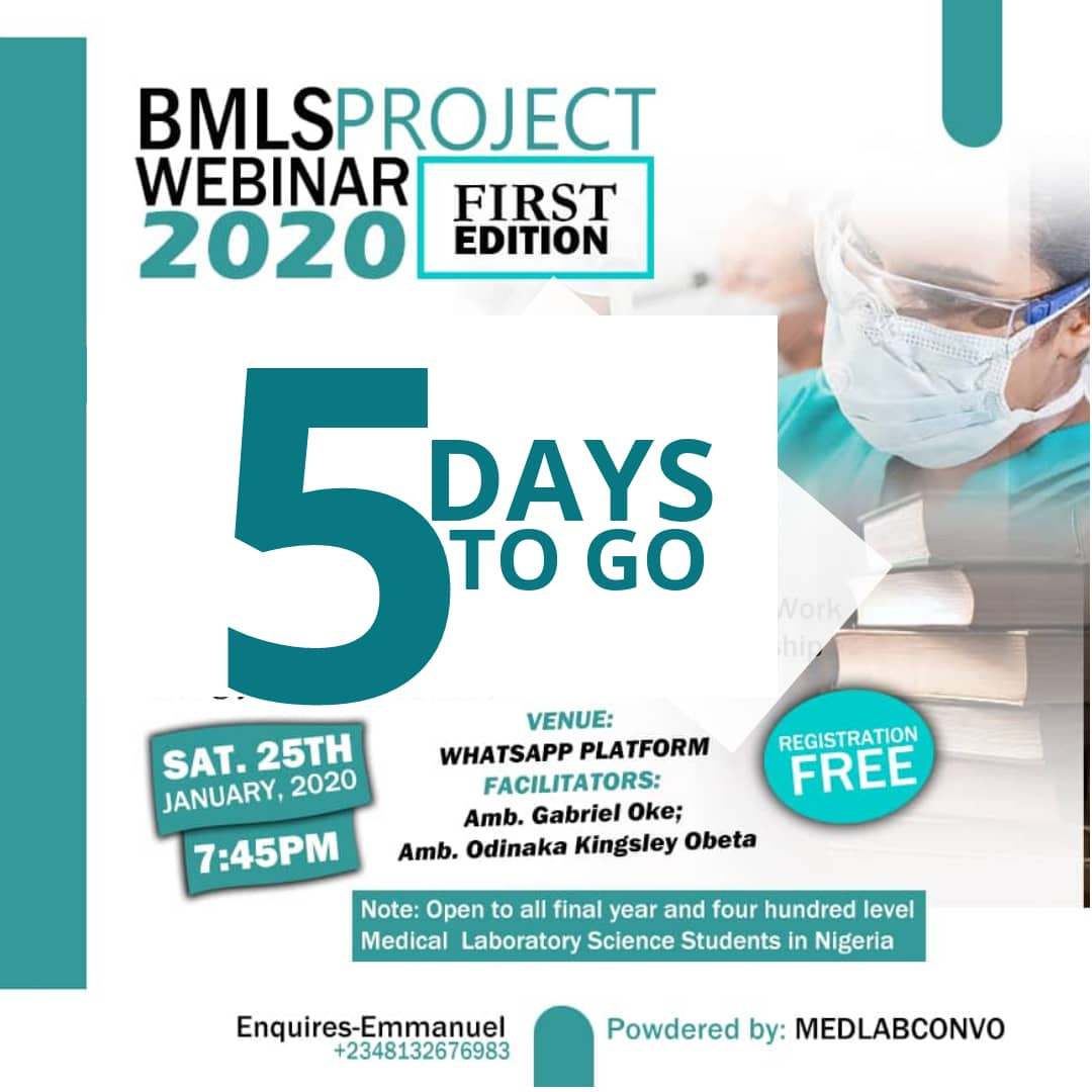 5days more to the online webinar on 'Project & Research'. It promises to be informative and enlightening.Send us a DM to register. Tag and Retweet for others to see. <br>http://pic.twitter.com/RvT10Ar9fr