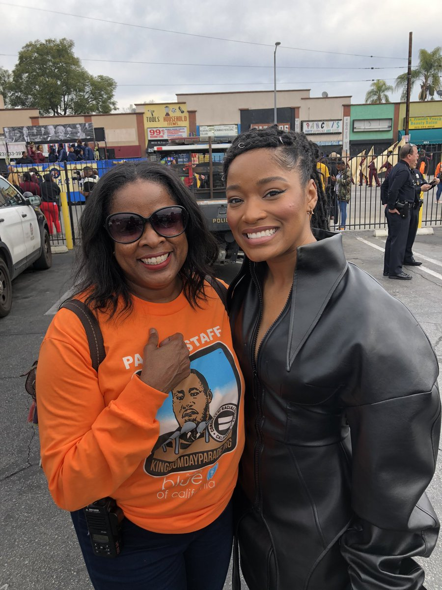 Thank You Grand Marshall of the #KingdomDayParade #KekePalmer @KekePalmer #KingdomDayParade2020