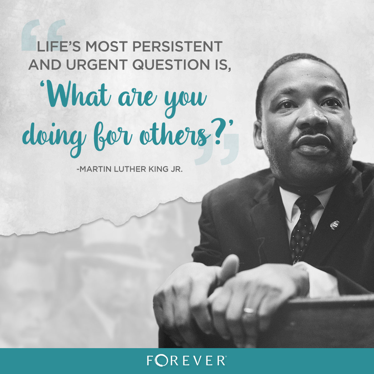 Enjoy your Martin Luther King Jr. Day - how can YOU make an impact on others?
