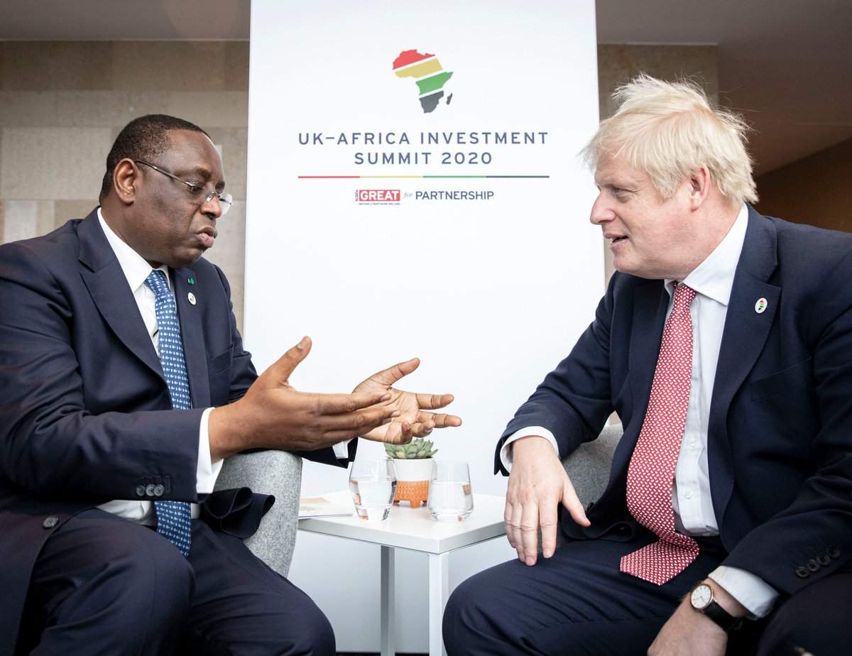 PM @BorisJohnson met leaders from across Africa to discuss new and lasting partnerships that will deliver investment, jobs and growth. #InvestInAfrica