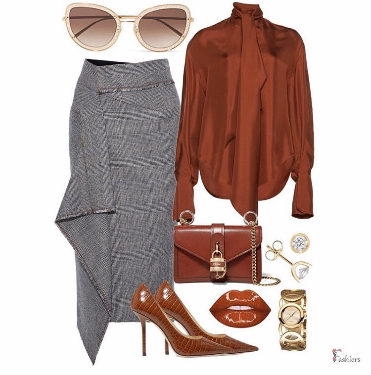 Classy work look (by Fashiers user Trendy Girl)  visit the link to shop the look or here https://bit.ly/3aClFrI  get the app and build your style #highheels #fashiongrammer #outfitpic #modeststyle #outfitidea #instastylist #fashiersapp #outfitlook #fashionmood #ootdpost pic.twitter.com/zqVqkW2CuX