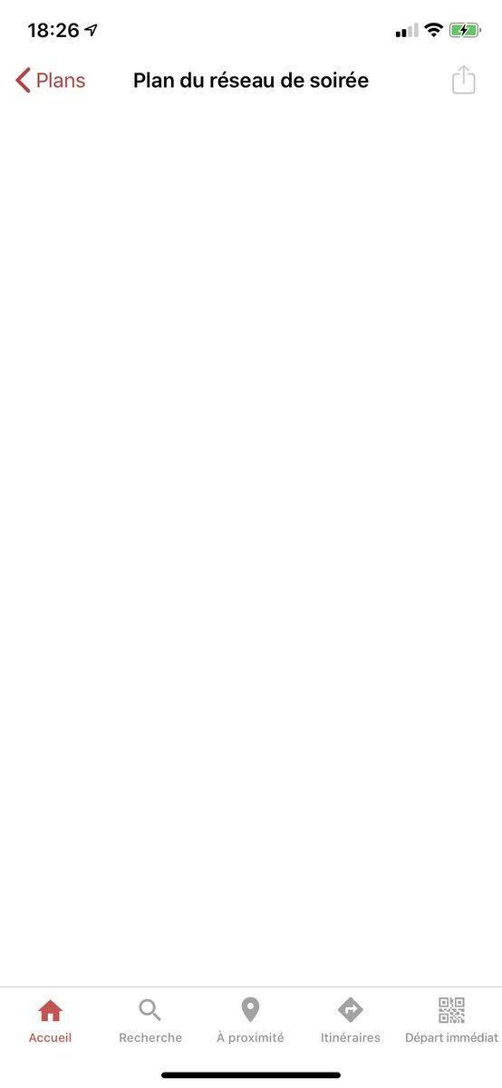 @CTS_Strasbourg Appli bêta toujours aussi longue à charger. Impossible de vous contacter car message de grève à la place du formulaire, toujours pas de scan de badges et plans du réseau qui ne s'affichent pas. Bref! 2020 hein!!! Faut tout recommencer là!!! #CTSpic.twitter.com/rzR8MqF3x0