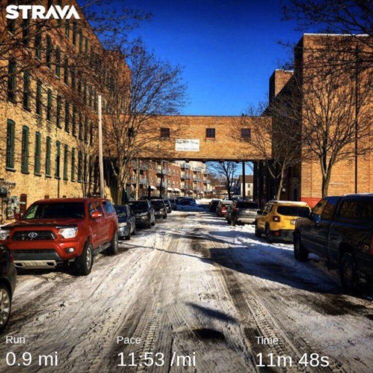 A cold and slippery run this morning! . . . . #ourcycleoflife #run #running #runnerlife #instagramrunner #optoutside #strava #runhappy #stravarunning #runningmotivation #motivation #letsgopic.twitter.com/7LDnND7BLi