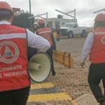 Image for the Tweet beginning: #CFE #Zacatecas realiza simulacro en