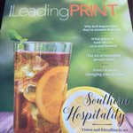 Image for the Tweet beginning: New issue of #LeadingPRINT is