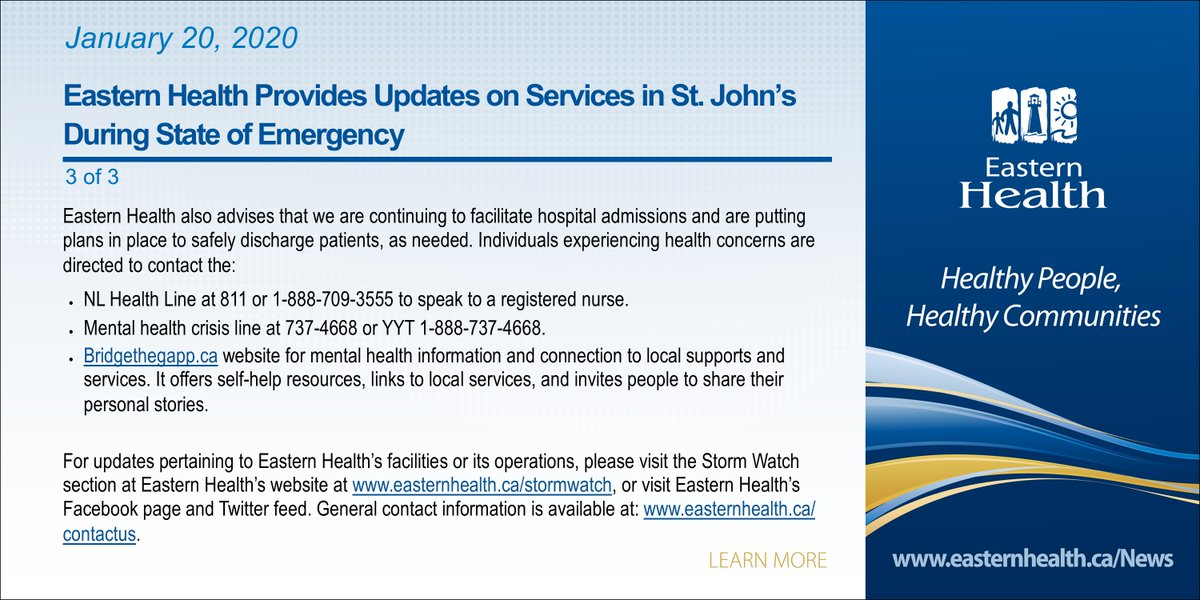 EasternHealthNL photo