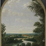 Image for the Tweet beginning: Brazilian landscape by Frans Jansz.