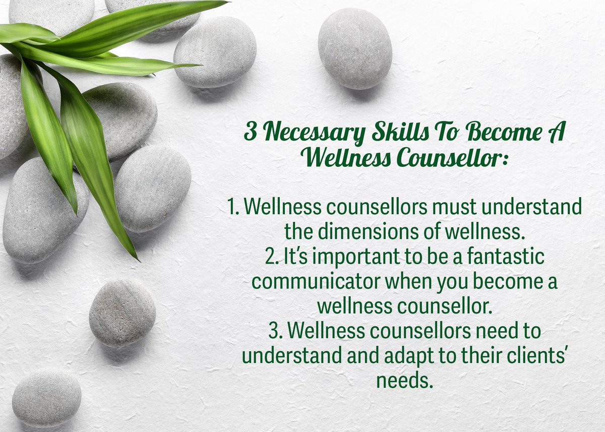 Planning to enroll in our #Wellness #Counsellor program? Here are three #skills that will help you thrive .  Learn more about this program: https://hubs.ly/H0myBCd0pic.twitter.com/PYLyNdJxQb