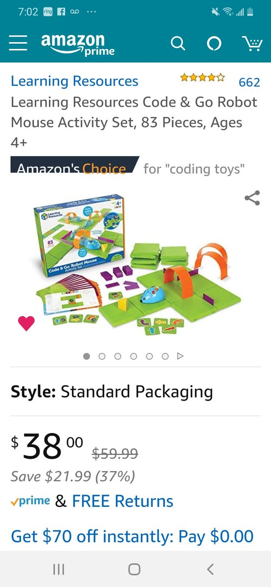 A lot of #coding give aways out there today be sure to look for them in rt & #CodeBreakers. Starting to show #Kindergarten #codingisfun any1 interested in helping? https://www.amazon.com/hz/wishlist/ls/3C5Z5YBJPRE63?ref_=wl_share …pic.twitter.com/nc71tQIOPE