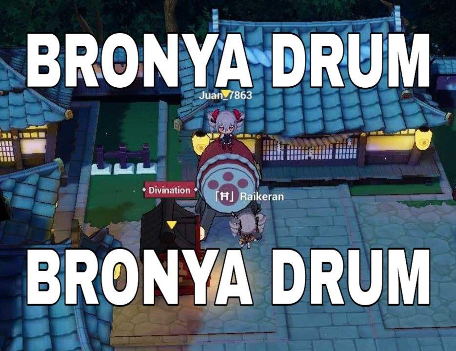 Bronya Drum Bronya Drum #honkaiimpact3