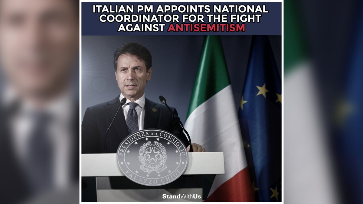 Italy's Prime Minister Giuseppe Conte has announced the appointment of Milena Santerini as the National Coordinator for the fight against antisemitism in the country.<br>http://pic.twitter.com/HgDgUSVhwT