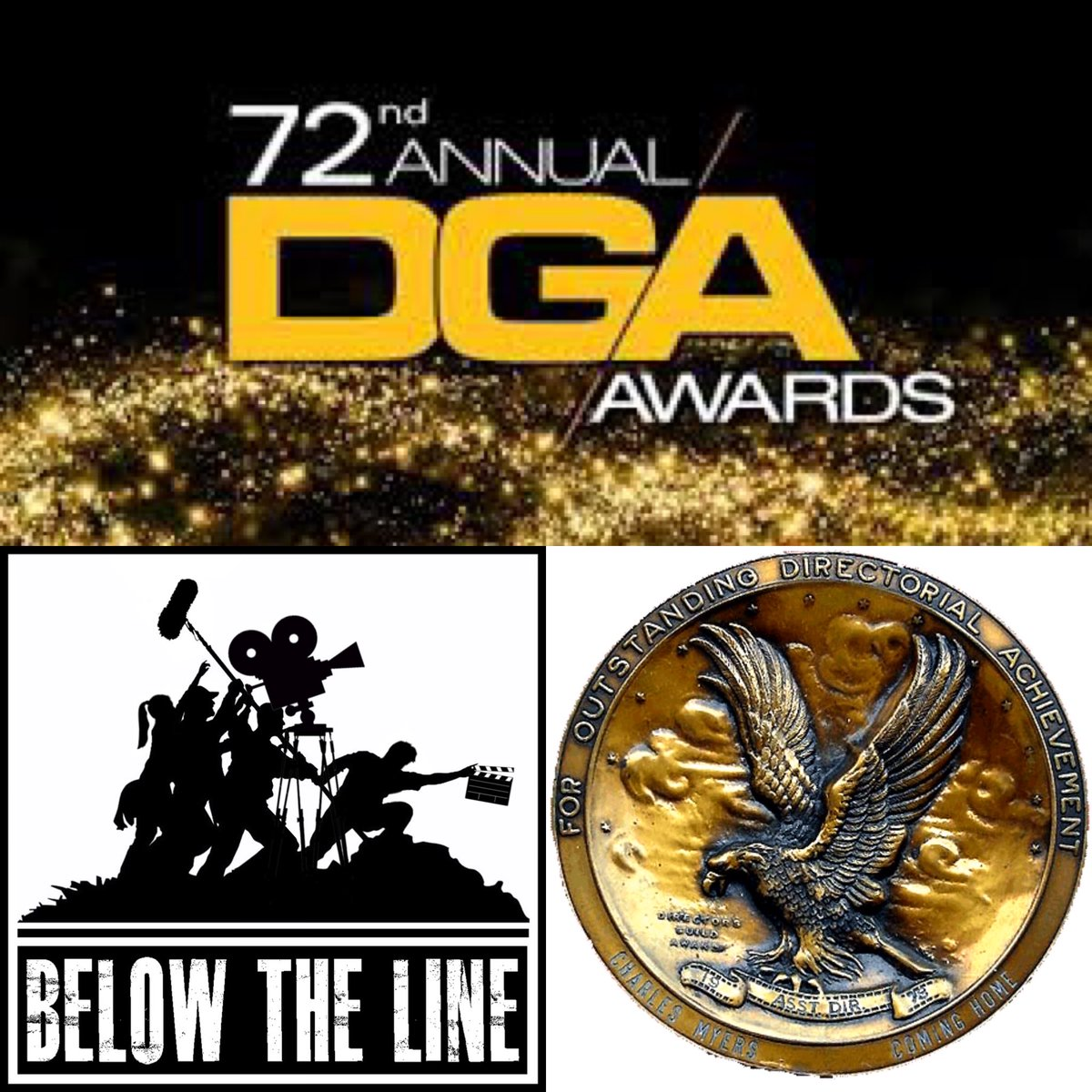 #AwardsSeason is upon us! #BelowtheLine Season 4 is a #BTS look at the nominees. Today = #DGA (1 of 3) Listen at http://belowtheline.biz or wherever you get podcasts #bts #setlife #filmcrew #hollywood #filmindustry #moviemaking #FilmTwitter #PodernFamily @directorsguildpic.twitter.com/3S2wg7hVsV