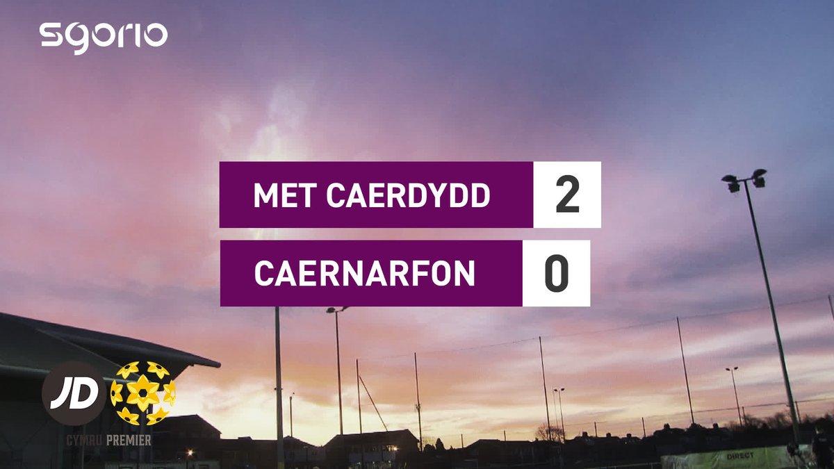 Uchafbwyntiau   Highlights @CardiffMetFC 2-0 @CaernarfonTown #CymruPremierJD