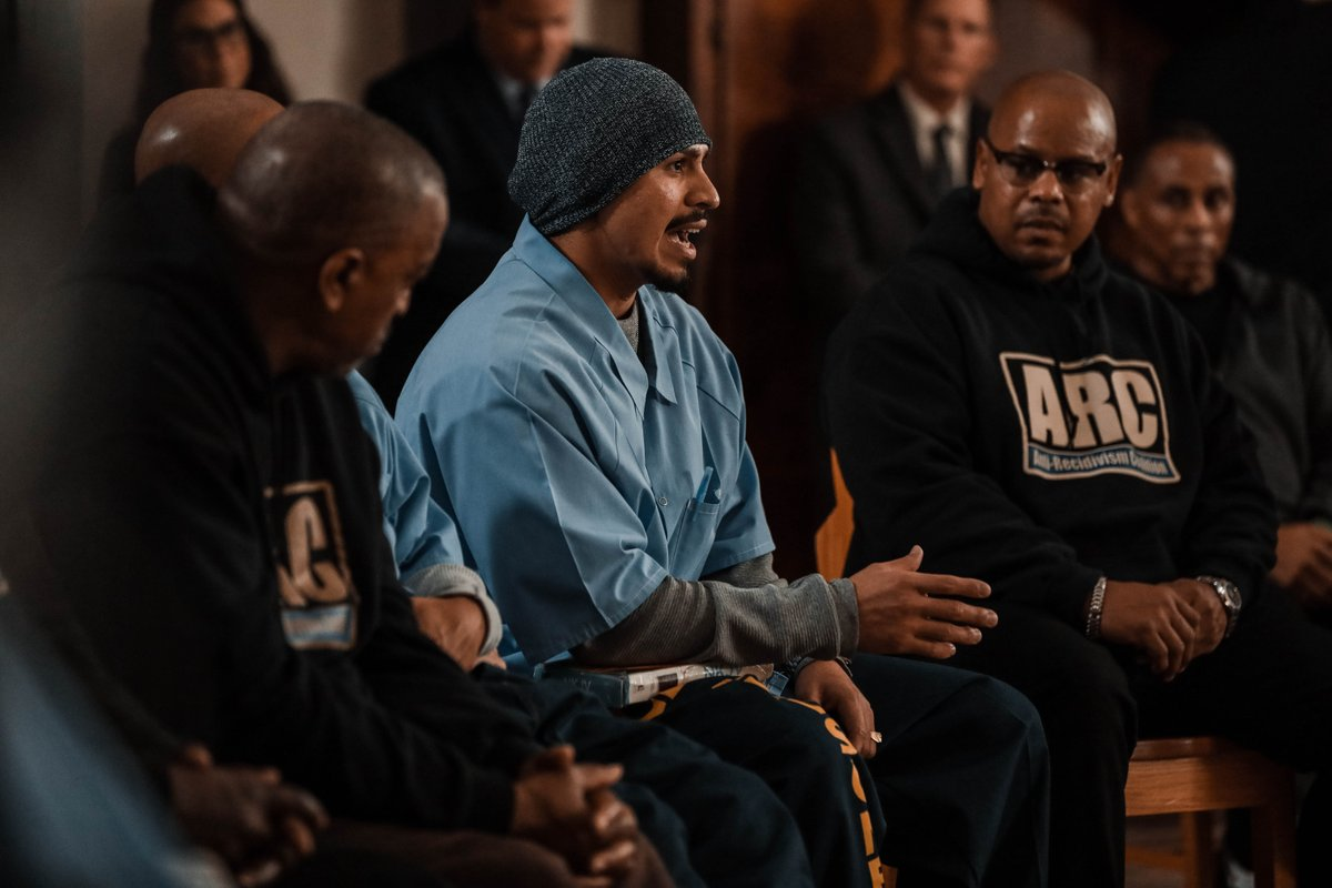 """To be in a situation where your freedom is taken away and still be able to want to help other people is very inspiring"" - @trevorariza, during the @SacramentoKings conversation with incarcerated people at Folsom Prison. #NBAVoices #MLKDay"