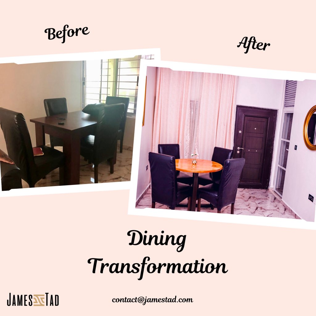 We can't get over this dining room transformation. #jtinteriors #interiordesigns #interiordecoration #diningroom #diningtransformationpic.twitter.com/XiVzJ9YLJ6