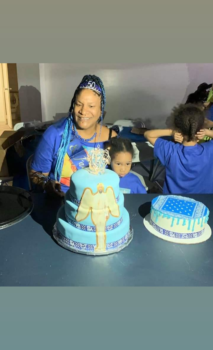 My NIPSEY inspired bday party and Cake my daughter in love made @LaurenLondon <br>http://pic.twitter.com/dbtx0yyoSA