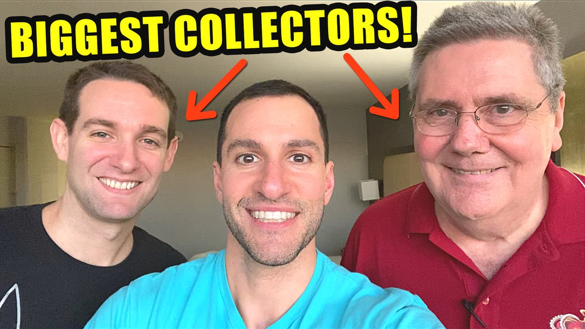 CHAT WITH WORLD'S BIGGEST POKEMON CARDS COLLECTORS! youtube.com/watch?v=kspi54…