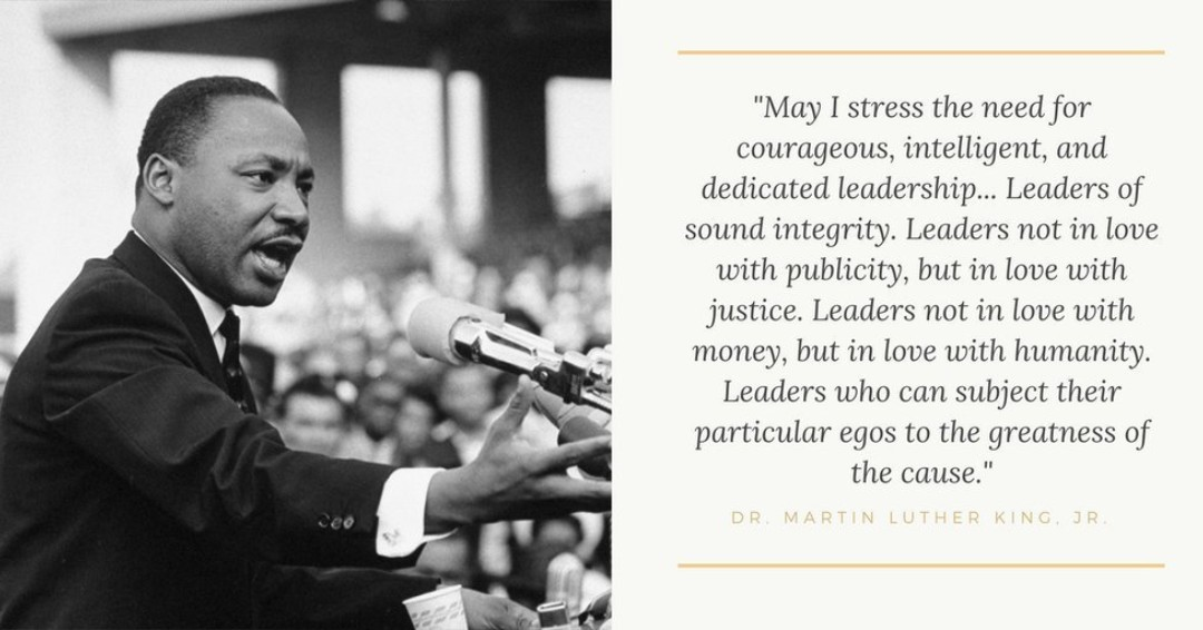 The leader I strive to be, Dr. King. Thank you for your example. #MLKDay #MLKJr #MLKDay2020 #MayorLary