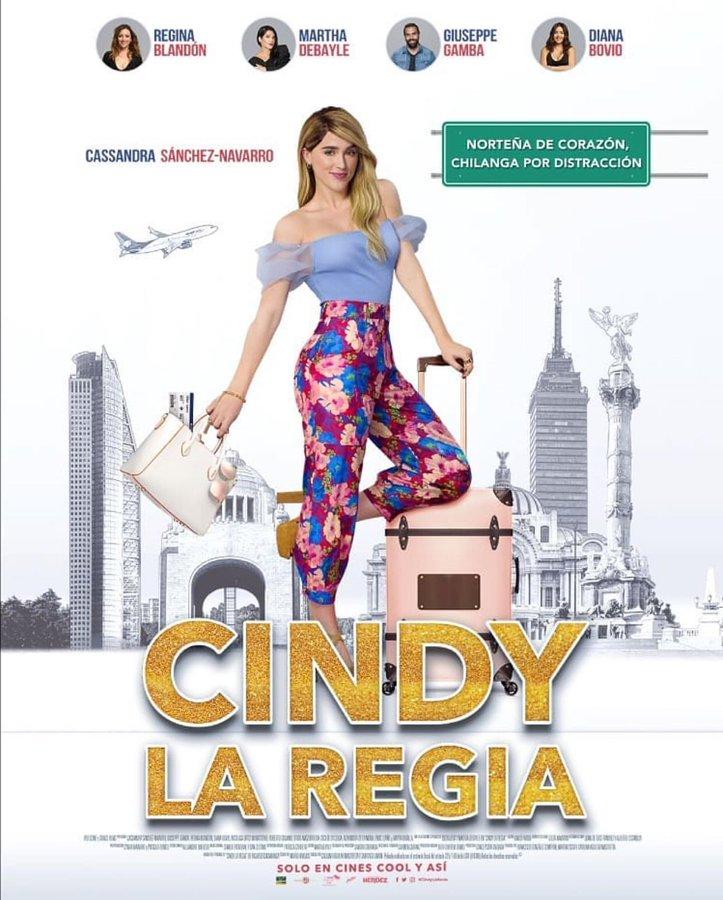 Regalos: Ve a la premiere de Cindy La Regia