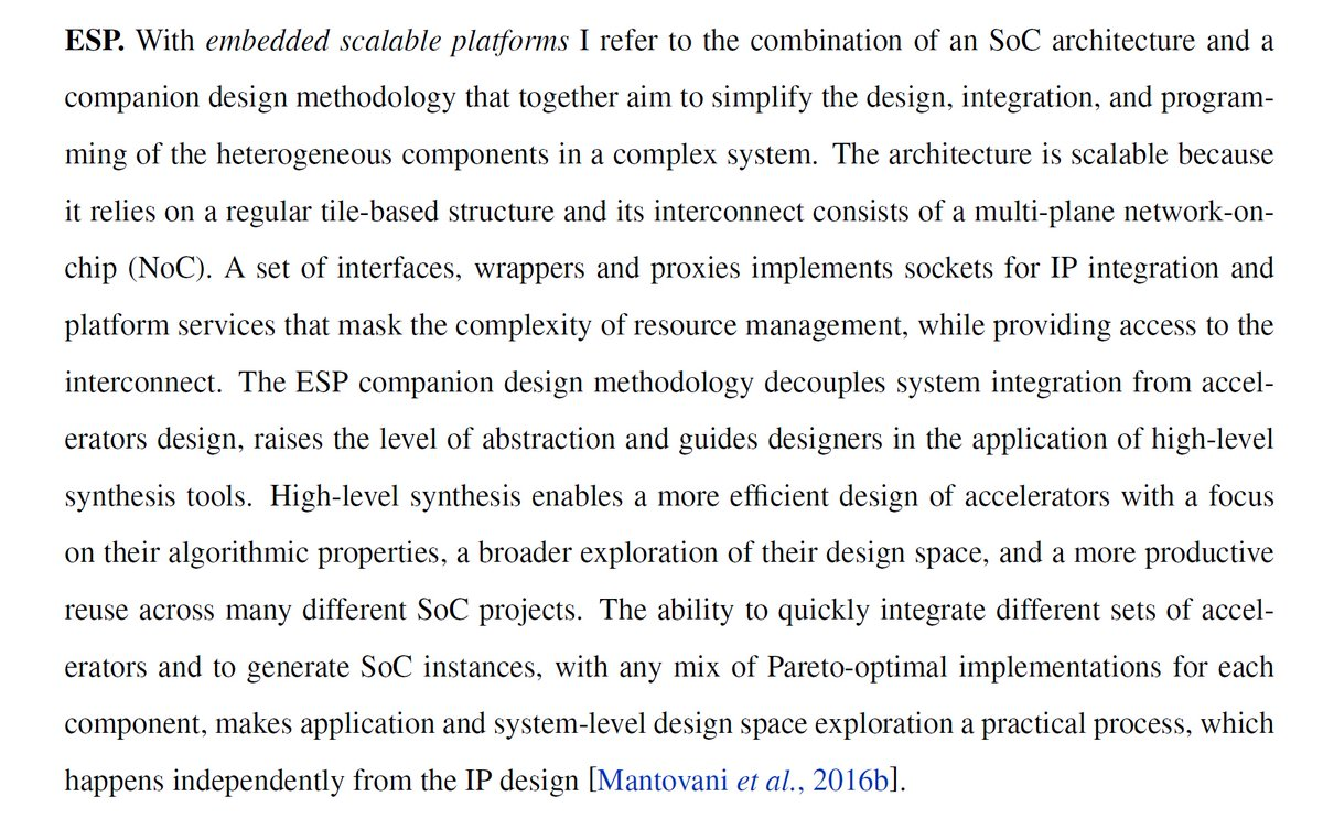 Ogawa Tadashi On Twitter Scalable System On Chip Design Phd Thesis 2017 Https T Co 3b7dj7st5o Embedded Scalable Platforms Esp Tile Based Scalable Communication And Control Infrastructure 7x 2d Mesh Esp Invited Aspdac 2016 Https T Co
