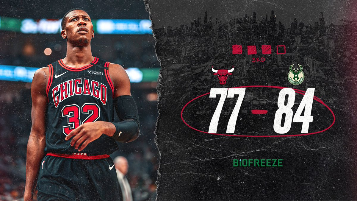 12 minutes to go in this one.  @BioFreeze Performance Leaders:  LaVine: 17pts/3reb/1ast/3stl Dunn: 12pts/5reb/2ast/3stl Young: 14pts/3reb/2ast/2stl/1blk