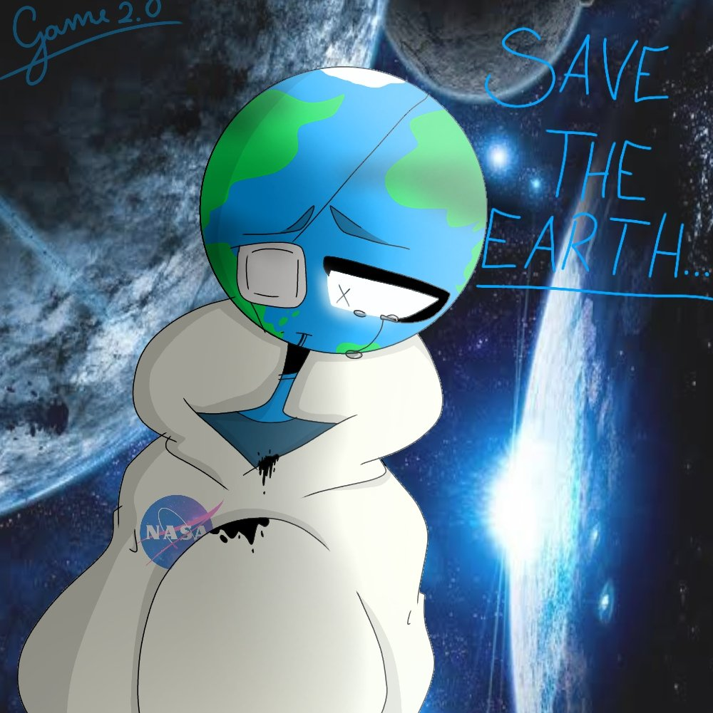 Save the Earth... #PlanetsHumans #savetheplanet Please don't be mad at me ... <br>http://pic.twitter.com/BB0Ysjp7gk