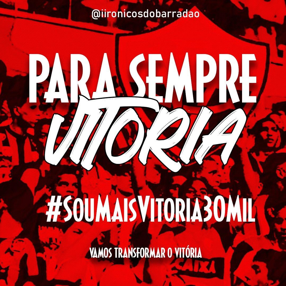 É HORA DE ABRAÇARMOS O TIME E JUNTOS TRANSFORMARMOS O @ecvitoriaoficial  . . . . . #ecvitoria #SouMaisVitoria30Mil #rubronegro #SRN #leao #maiordonordeste #nordestemeulindo #nordeste #salvador #itabuna #ilheus #juazeiro #vitoriadaconquista #aracaju #futebol #viresociopic.twitter.com/manWQwPmW8