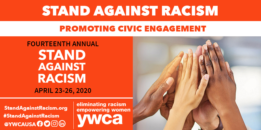 """""""Life's most persistent and urgent question is: 'what are you doing for others?'"""" - Martin Luther King, Jr. We invite you to take a #StandAgainstRacism with us in our annual campaign to #EliminateRacism, April 23-26. <br>http://pic.twitter.com/azun5HMsva"""